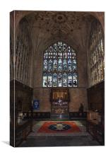 Winchester Cathedral Lady Chapel, Canvas Print