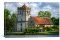Bisham Church, Canvas Print