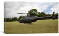 Helicopter - Bell Jet Ranger 206, Canvas Print