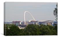 Wembley Stadium, Canvas Print