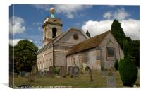 Church of St. Lawrence West Wycombe 4, Canvas Print
