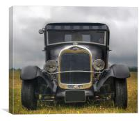 Old Ford car, Canvas Print