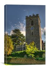 St Mary's Church Hayes Middlesex, Canvas Print
