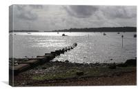 Poole Harbour, Canvas Print