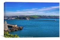 Mount Batten Peninsular, Canvas Print