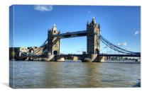 Tower Bridge 3, Canvas Print