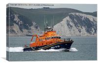 RNLB Earnest and Mabel, Canvas Print