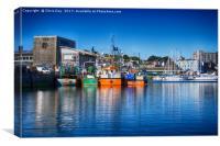 Sutton Harbour, Canvas Print