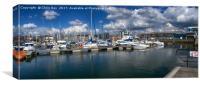 Sutton Harbour Plymouth, Canvas Print