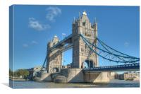 Tower Bridge 5, Canvas Print