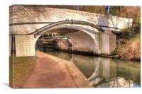 Springwell Lane Bridge - 176, Canvas Print
