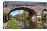 Grand Union Canal Bridge 181, Canvas Print