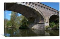 Grand Union Canal Bridge 181, Canvas Print