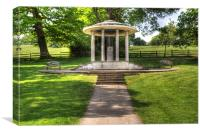 Magna Carta Memorial, Canvas Print