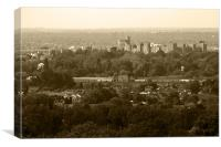 Windsor in Sepia, Canvas Print
