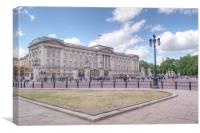 Buckingham Palace, Canvas Print