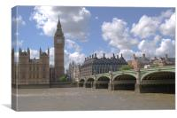 Westminster bridge, Canvas Print