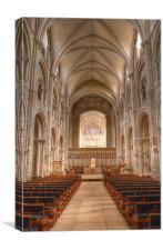 Christchurch Priory, Canvas Print