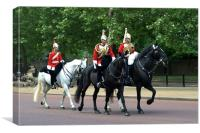 Household Cavalry, Canvas Print
