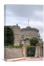 Windsor Castle Gate, Canvas Print