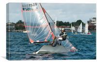 High School Children National Sailing Championship, Canvas Print