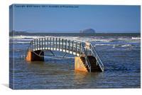 The Bridge to Nowhere, Scotland, Canvas Print