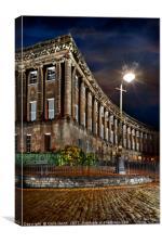 Royal Crescent, Bath, Canvas Print