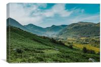 Scottish Highlands landscape, Canvas Print