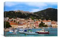 Hvar Island, Croatia, Canvas Print