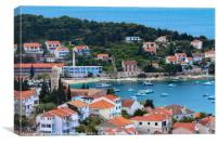 Hvar Island Croatia, Canvas Print