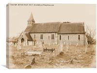 St Nicholas Church , Canvas Print