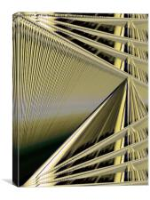 Threads on the Loom of Life, Canvas Print