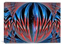 Devils orb cages, Canvas Print