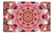 Ruby Star, Canvas Print