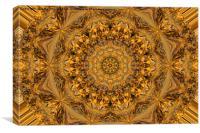 Golden Lace, Canvas Print