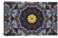 Control wheel, Canvas Print