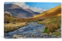 Honister Pass, Canvas Print