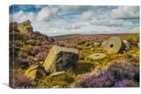 Millstones, Canvas Print