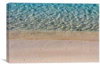 Puerto Pollensa Seashore, Canvas Print