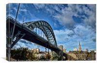 Tyne Bridge Newcastle, Canvas Print