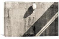 Shadows Aveiro Portugal, Canvas Print