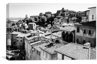 Siena Rooftops, Canvas Print