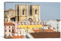 Lisbon Cathedral, Portugal, Canvas Print