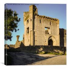 Middleham Castle Wensleydale, Canvas Print