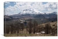 Mount St. Helens, Canvas Print