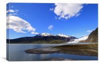 Mendenhall Glacier, Juneau, Alaska, Canvas Print