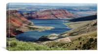 Flaming Gorge Reservoir, Wyoming, Canvas Print