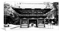 Nezu Shrine, Tokyo                    , Canvas Print