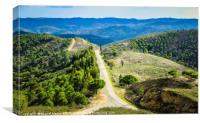 Roads on the Algarve Hills, Canvas Print