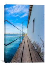 Walking Above the Water - Algarve, Canvas Print
